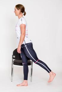 Active movement: Leg swings for reducing tension held in hip flexors